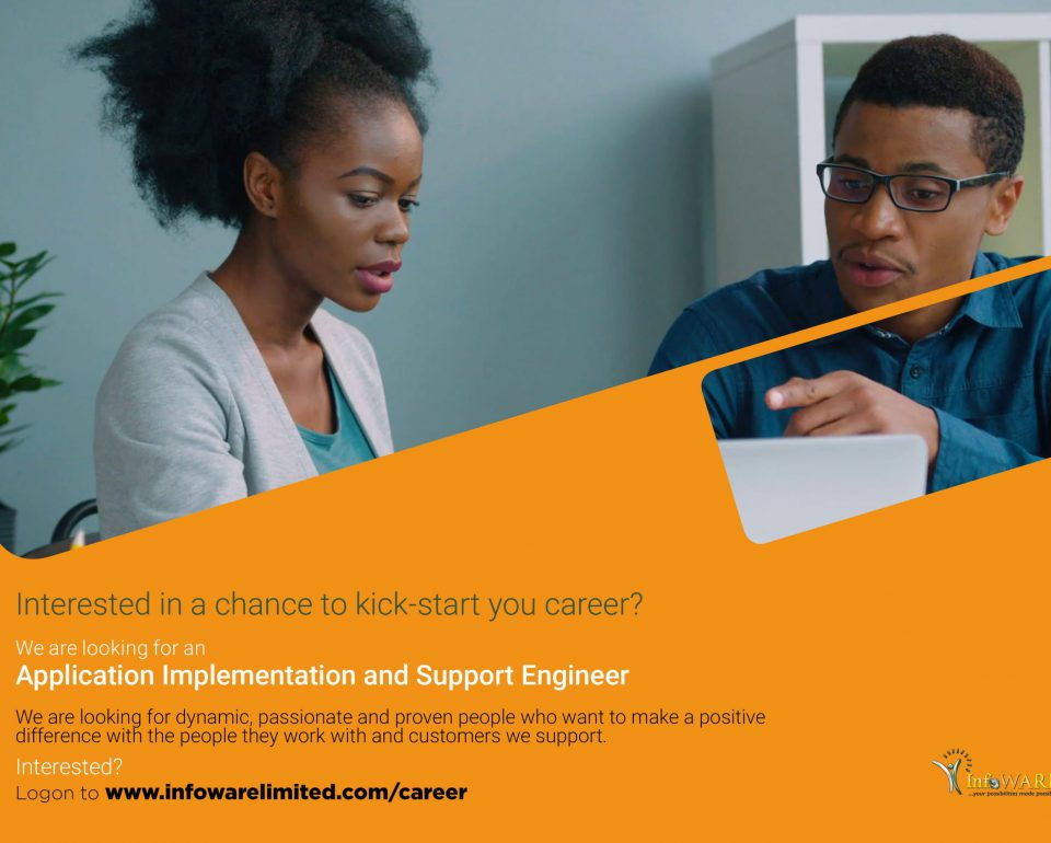 InfoWARE Application Implementation and Support Engineer