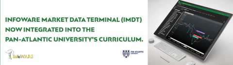 INFOWARE MARKET DATA TERMINAL (IMDT) INTEGRATED INTO THE PAN-ATLANTIC UNIVERSITY'S CURRICULUM.